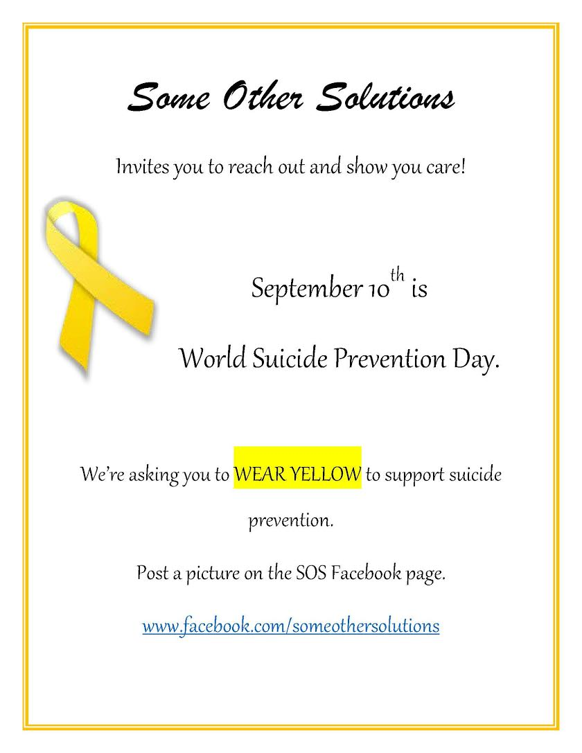 World Suicide Preventtion day